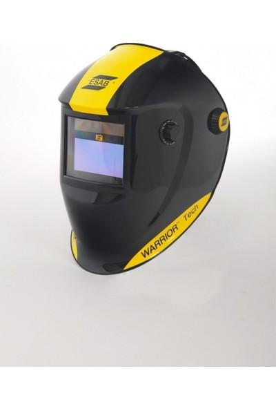 Esab Warrior Tech Colormatik Kaynak Maskesi - Sarı