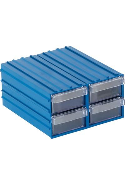 Plastik Çekmeceli Kutu