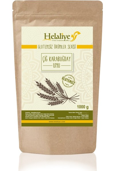 Helaliye Çiğ Karabuğday Unu 1000 gr