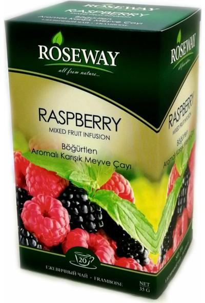 Roseway Böğürtlen Çayı Raspberry Tea 20 Fincan