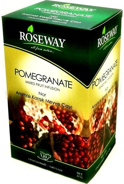 Roseway Nar Pomegranate Tea 20 Fincan