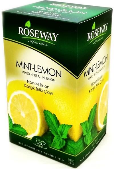 Roseway Nane Limon Mint Lemon Tea 20 Fincan