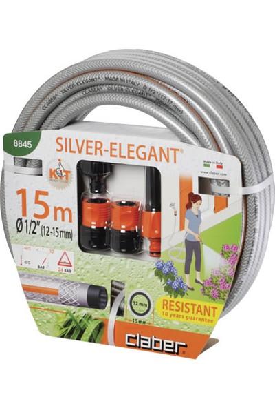 Claber 8845 Silver Elagant Kit 15 Mt.Hortum Ve Sulama Seti