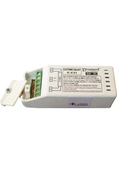Floresan Ve Pl-L Ampul Balastı 24 V.Ac/Dc 8...40 W