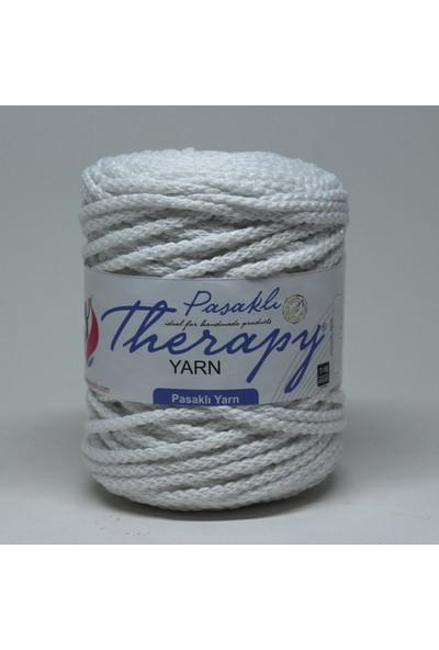Therapy Yarn Beyaz Pasaklı İp