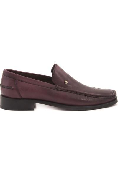 Kemal Tanca Deri Bağcıksız Erkek Klasik Ayakkabı 6218