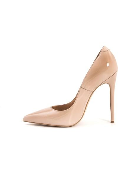 Rouge Deri Kadın Stiletto 5025-01