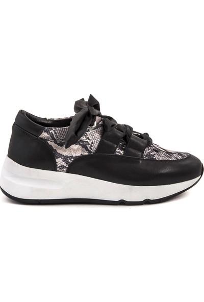 Rouge Deri Kadın Sneaker 4257-68
