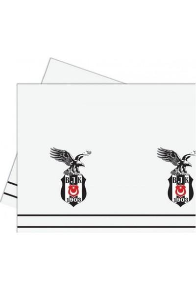 Sevinç Beşiktaş Bjk Lisanslı Masa Örtüsü 120 x 180 cm Parti Süsleme
