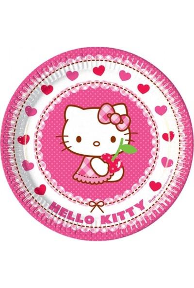 Sevinç 8'li Hello Kitty Karton Bardak Pembe Süsleme Doğum Günleri İçin