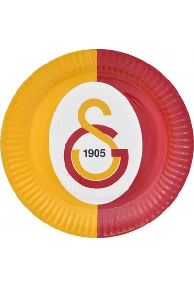 Sevinç 8'li Galatasaray GS Karton Tabak Süsleme Doğum Günleri İçin