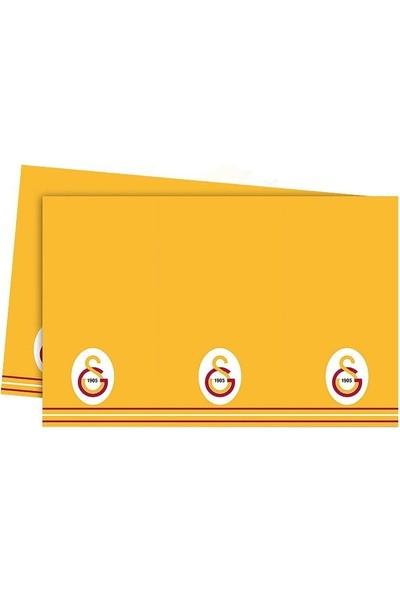 Sevinç Galatasaray GS Lisanslı Masa Örtüsü 120 x 180 cm Parti Süsleme