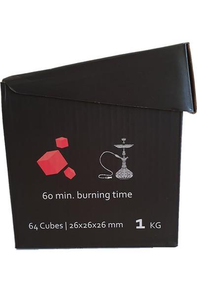 Coco Plus Küp Nargile Kömürü - 1 Kg