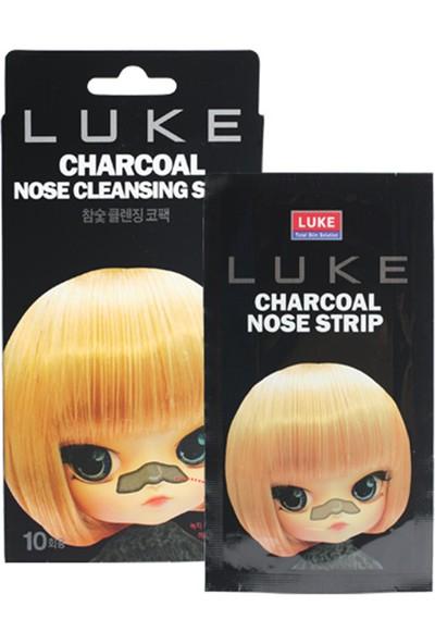 Luke Charcoal Nose Cleansing Strip - Charcoal(Kömür Tozu) İçeren Burun Bandı Tek Kullanımlık