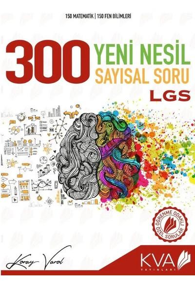 Koray Varol Akademi 8.Sınıf LGS 300 Yeni Nesil Sayısal Soru Bankası