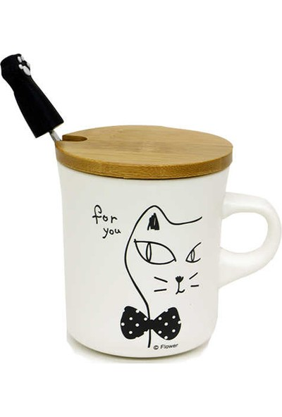 Mory Concept Kupa Bardak Set Cat Time