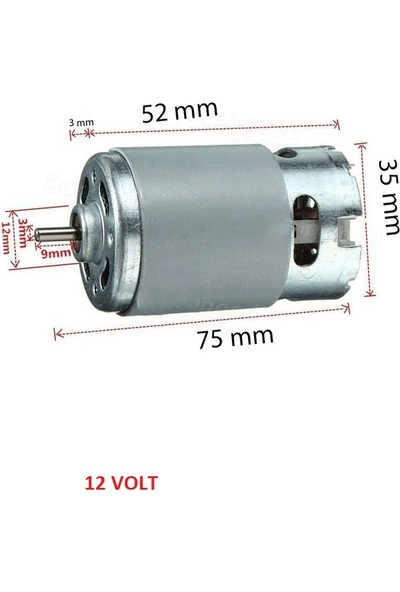 Zng 18 V DC Motor