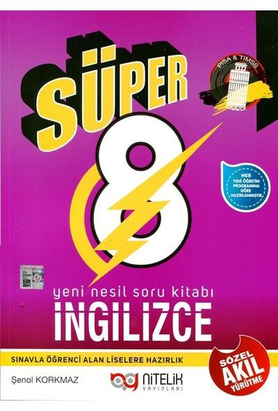 Nitelik 8. Sınıf Yeni Nesil Süper İngilizce Soru Kitabı
