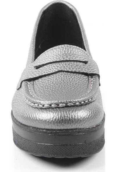Veyis Usta Anne Model Dolgu Topuk Ayakkabı 2829