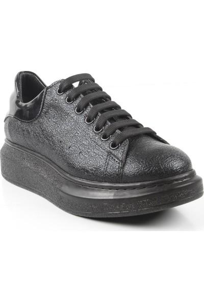 Veyis Usta Kadın Günlük Kalın Taban Ayakkabı 66914