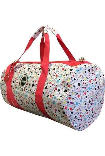 Fudela Paint Duffel Bag
