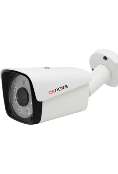 Cenova Cn-2036Ahd 2Mp 1080P Fullhd Ahd Güvenlik Kamerası - 6 Atom Led