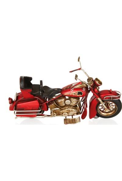 Özel Tasarım Kırmızı Cooper Motosiklet