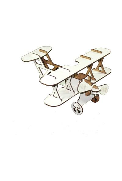 Joy And Toys 3D Ahşap Puzzle - Uçak