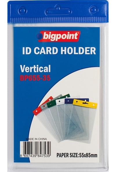 Bigpoint Kart Poşeti Dik Mavi 55X85