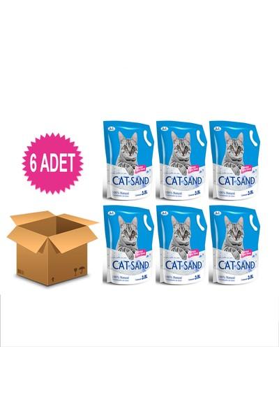 Cat Sand Kedi Kumu 3,8 lt 6 Adet
