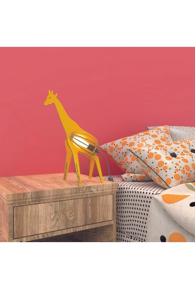 Woodact Panthera Çocuk Odası Gece Lambası