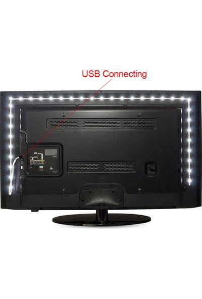 Battmate Tv Arkası Led Aydınlatma 3 Metre Tv Arkası Lamba Rgb Rengarenk Şerit Led