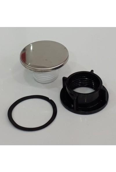Ege Krom Evye Batarya Delik Kapama Çelik Tapası - Lavabo İptal Tıpası