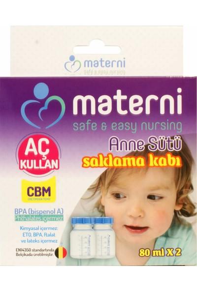 Materni Saklama Kabı 80 ml