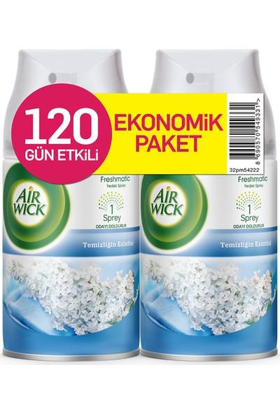 Air Wick Oda Kokusu Temizlik Esintisi 2'li Yedek