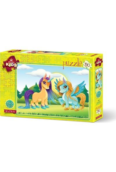Art Çocuk Puzzle Mini Pegasus 50 Parça Puzzle