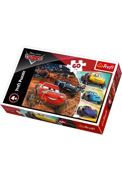 Trefl Çocuk Puzzle Lightning McQueen with Friends / Disney 60 Parça Puzzle