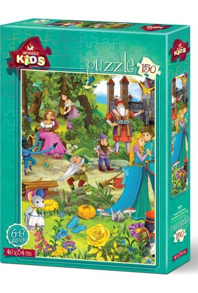 Art Çocuk Puzzle Kralın Misafirleri 150 Parça Puzzle