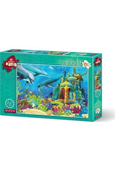 Art Çocuk Puzzle Su Altı Kalesi 150 Parça Puzzle