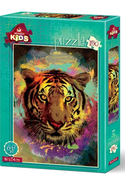 Art Çocuk Puzzle Pençe 150 Parça Puzzle