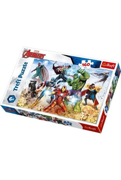 Trefl Çocuk Puzzle Ready to Save the World / Disney Marvel 160 Parça Puzzle
