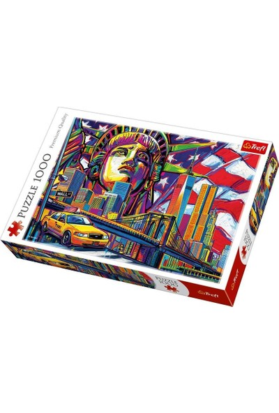 Trefl Puzzle Colours Of New York 1000 Parça Puzzle