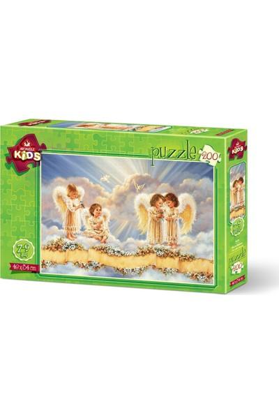 Art Çocuk Puzzle Küçük Melekler 200 Parça Puzzle