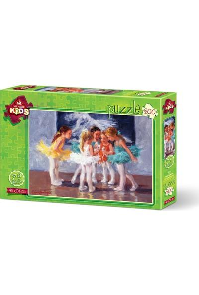 Art Çocuk Puzzle Minik Balerinler 200 Parça Puzzle