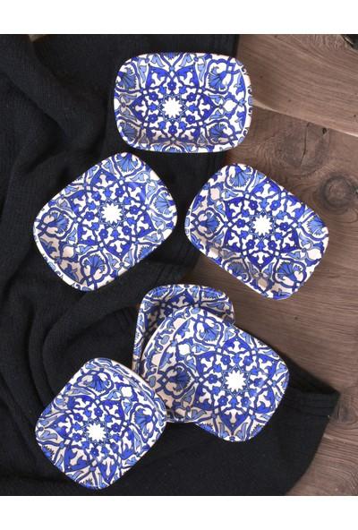Keramika Osmanlı Çerezlik/Sosluk 11 cm 6 Adet - 17667