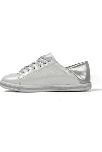 Hammer Jack Beyaz - Gümüş Kadın Spor Ayakkabı 547 504-Z