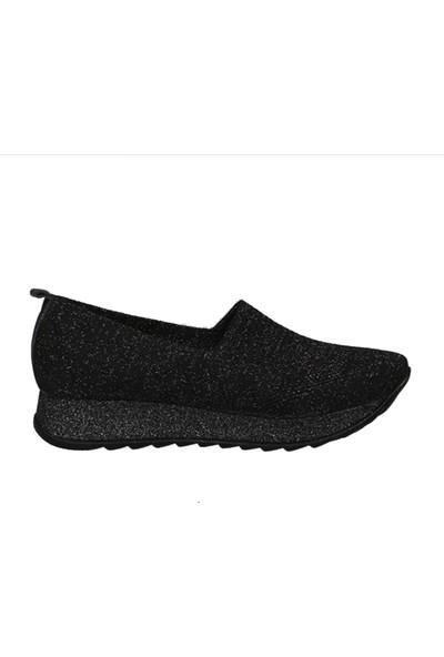 Hammer Jack Siyah Simli Kadın Ayakkabı 469 750-Z