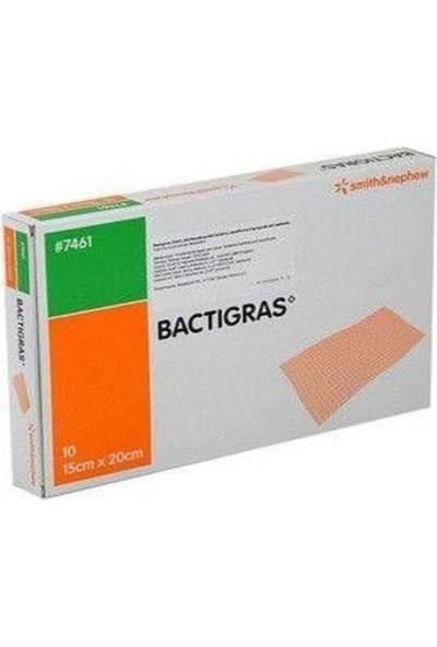 Medikalbim Bactigras 15X20 Yara Örtüsü Antiseptik Sargı Yara Bakım Örtüsü