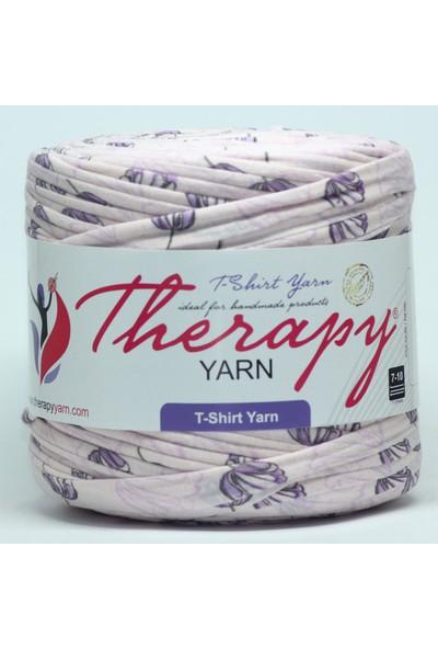 Therapy Yarn Yaprak Desen Penye İp