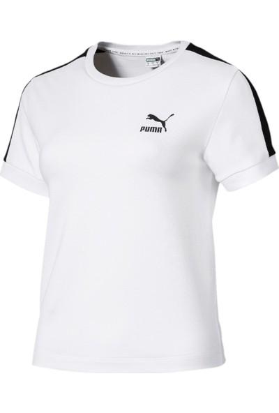 Puma Classics Tight T7 Kadın Spor T-Shirt 57795152